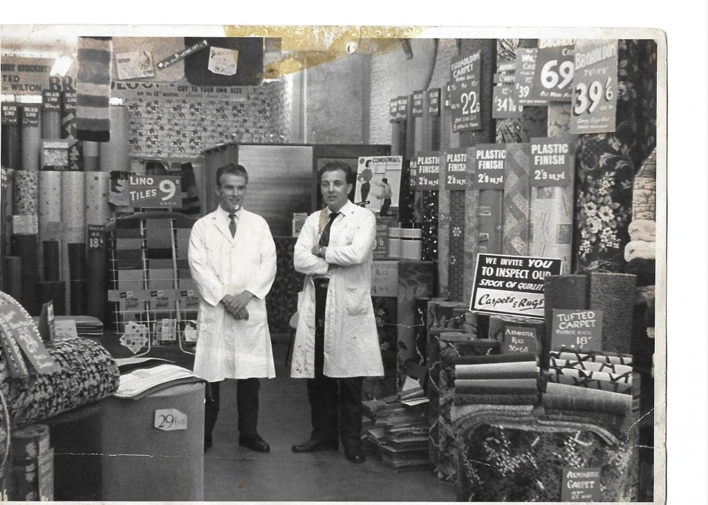 Mitcham 1960 - Fred & Fred