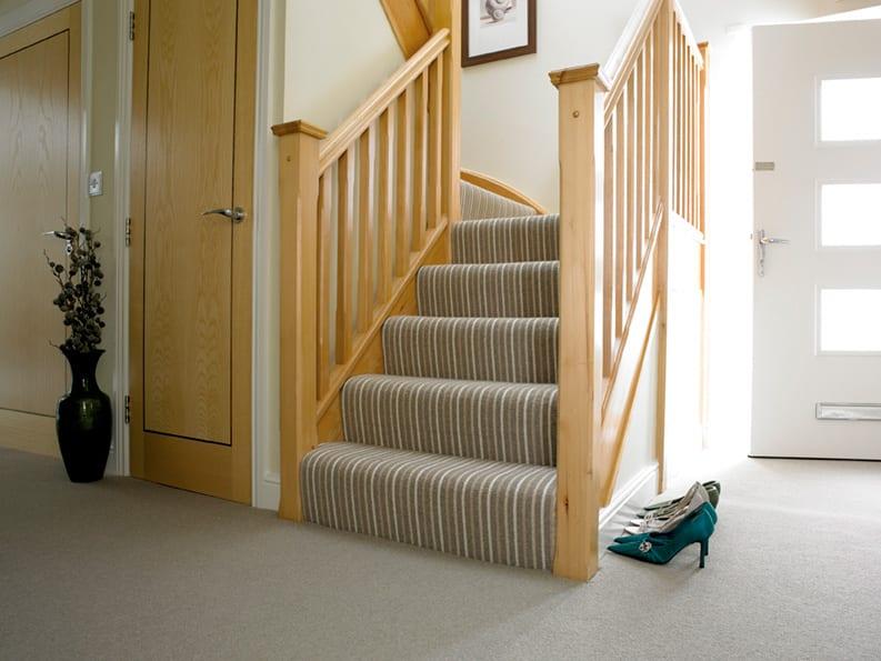 Stripy Stair Carpet Surrey