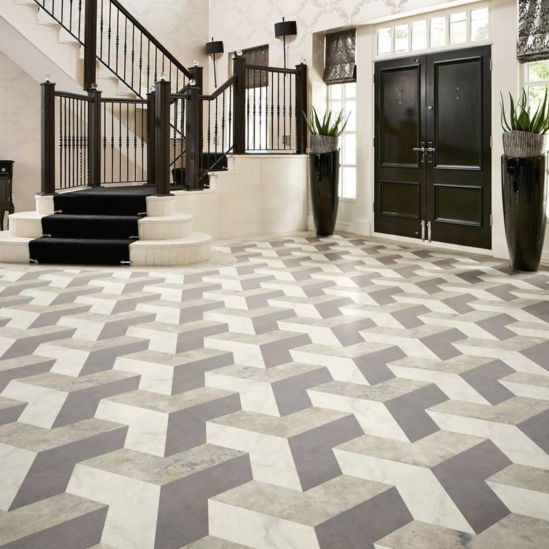 Karndean Flooring In Hallway